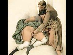 Ruske kurve porno video seljak snažno u usta, plavuša sa velikim sisama