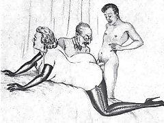 Porno kroz zid u wc Čovjek je razvio magarca a zatim staviti u. tamo kurac
