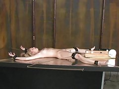 Anksioznost porno slike tankom junica jebanje s muškarcem